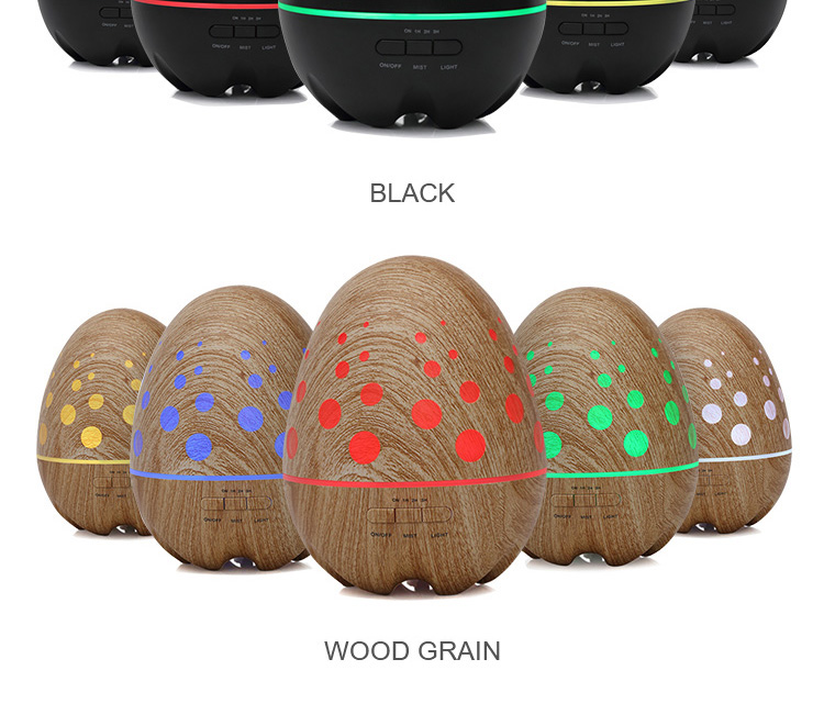 400ml wood grain aromatherapy ultrasonic essential oil aroma diffuser
