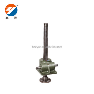 Customized bevel manual gear screw jack