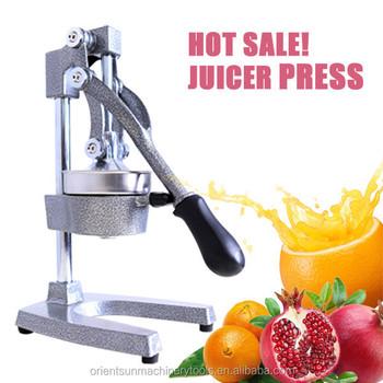 Commercial juicer press citrus juicer manual hand pomegranate squeezer buy commercial juicer - Machine a presser orange ...