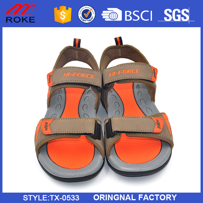 2016 New Fashion Style Summer Sandals Shoes for Men comfortable sandals for flat feet