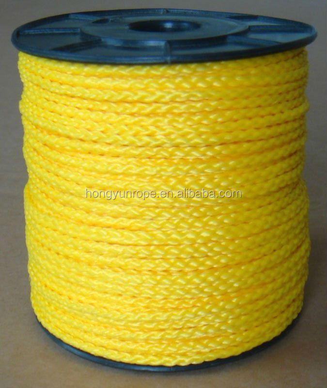 PE/PP hollow Braided Rope, Poly hollow braided rope