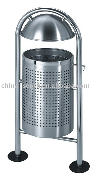 stainless steel outside garbage bin GPX-102