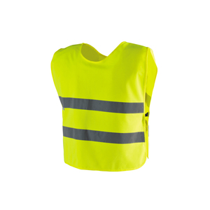 child hi viz gilet kids reflective safety clothes
