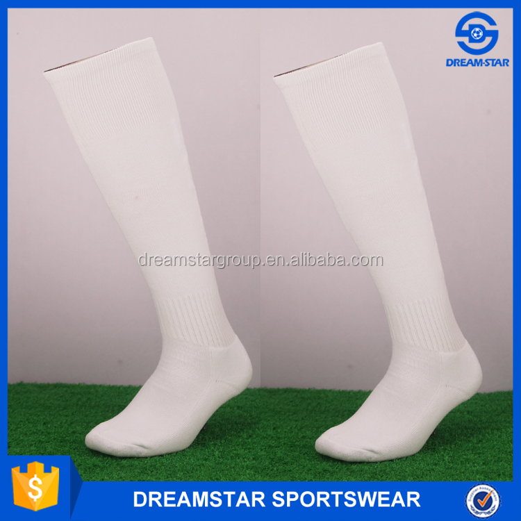 Logo Printed Cheap Breathable Knitted Football Socks