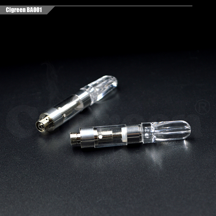 CBD cartridge BA001 with full ceramic coil disposable electronic cigarettes empty