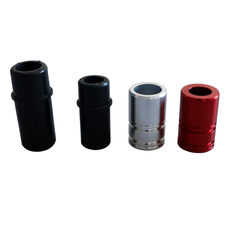 weight lifting strength accessories black plastic sleeve bushings for weight stack