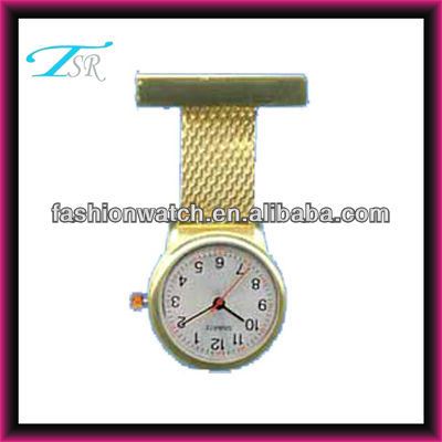 quartz movement for watches pc21j alloy nurse watch quartz
