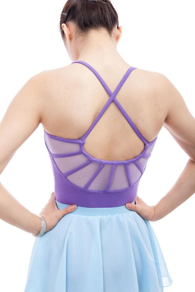 CLB0013 Factory Price Wholesale Strappy Back Leotard Women Dance Leotard Ballet Leotard