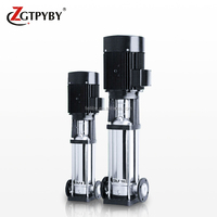 Stainless steel multistage centrifugal self priming electric high capacity vertical inline pump