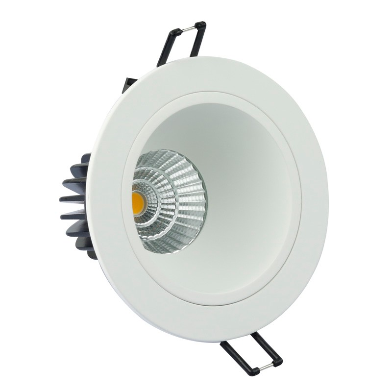COB LED lights 7W 9W Recessed dimmable 3000K <strong>Downlight</strong> with driver