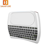 White D8 2.4G wireless mini keyboard MX3 air remote mouse D8 back light fly mouse