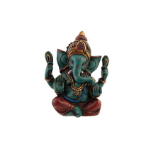 100% fatti a mano in resina <span class=keywords><strong>dio</strong></span> <span class=keywords><strong>indù</strong></span> lord <span class=keywords><strong>ganesh</strong></span> statue