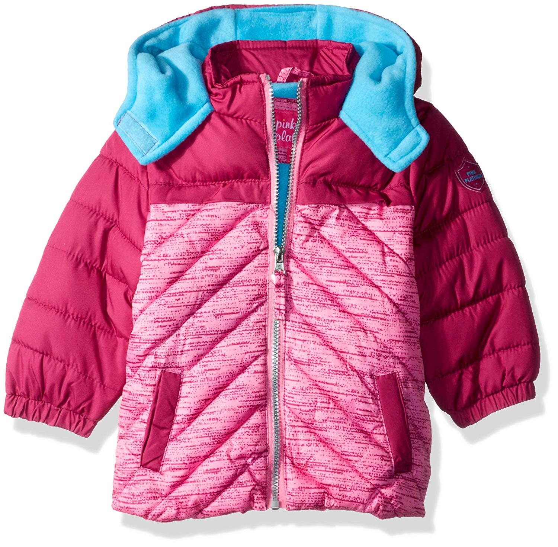 Pink Platinum Girls Pop Anorak Jacket