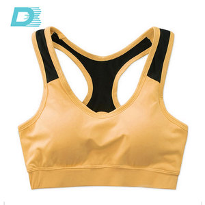 Hot Sexy Cotton Nude Yoga Image Tube Sports Bra & Yoga Bra Made In China