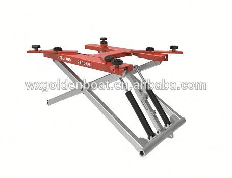 Oil Pressure top quality car lift 3 post 1 year warranty