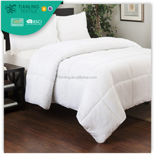 White Brushed Microfiber Filling Cheap Patchwork Quilt Beddings Coverlet Quilts
