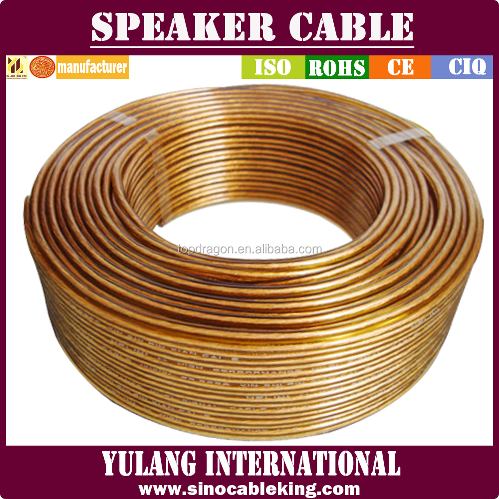 High end automotive 1.00mm2 audio speaker wire made in china