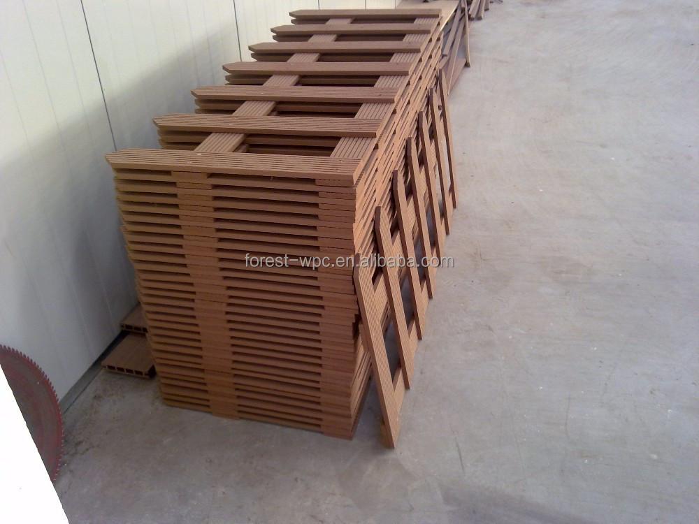 Frstech cl tures pour terrasses balcon cl ture wpc composite bois plastiq - Cloture balcon terrasse ...