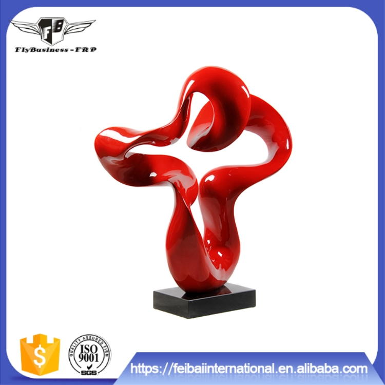 2016 hot sale low price Easy to clean FRP Resin material artwork