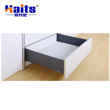 High-end new furniture drawer slide rail, metal furniture high drawer elegant box drawer slides HT-01.E1304