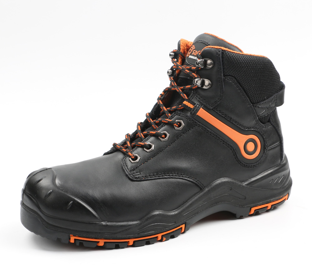 S1p new design steel toe cap cleanroom esd safety shoes