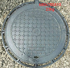whosale price Cast iron parts manhole cover factory