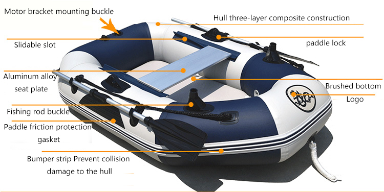 Best Small Folding Inflatable Pontoon Fishing Boats Rubber Dinghy With Seat  And Motor For Sale - Buy Small Inflatable Pontoon Fishing Boats,Inflatable
