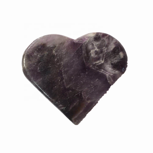 crystal decoration Natural Dream Amethyst Crystal Heart Shaped Rocks For Sale