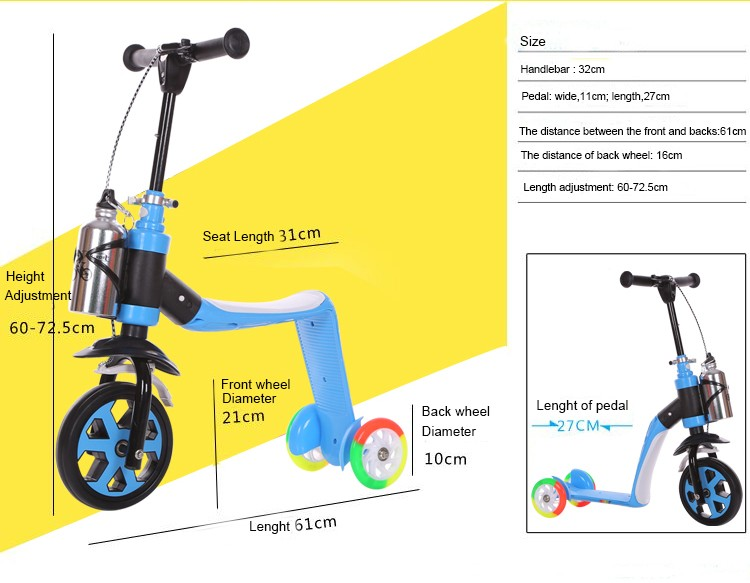 3 Wheel Motor Scooters For Adults