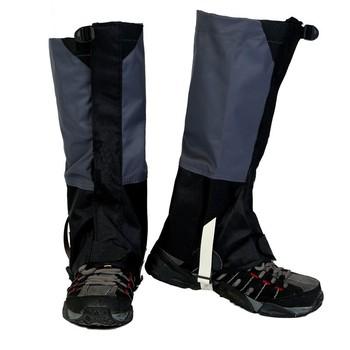 Polainas de senderismo al aire libre Polainas de arranque de nieve Impermeable polainas de pierna [A] vSxgm