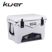 35qt hard plastic ice chest cooler for sale