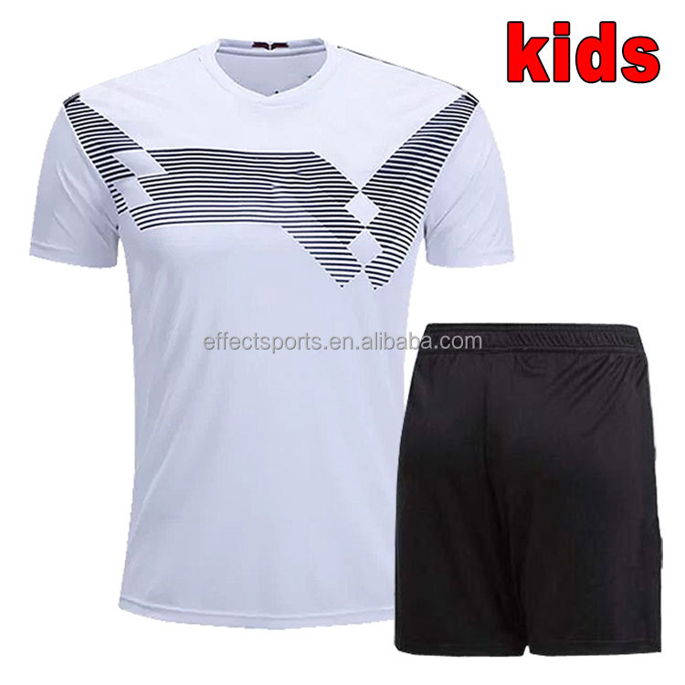 988b70e450 Nova temporada de futebol kit crianças jersey 2018 da copa do mundo Alemanha  camisa de futebol