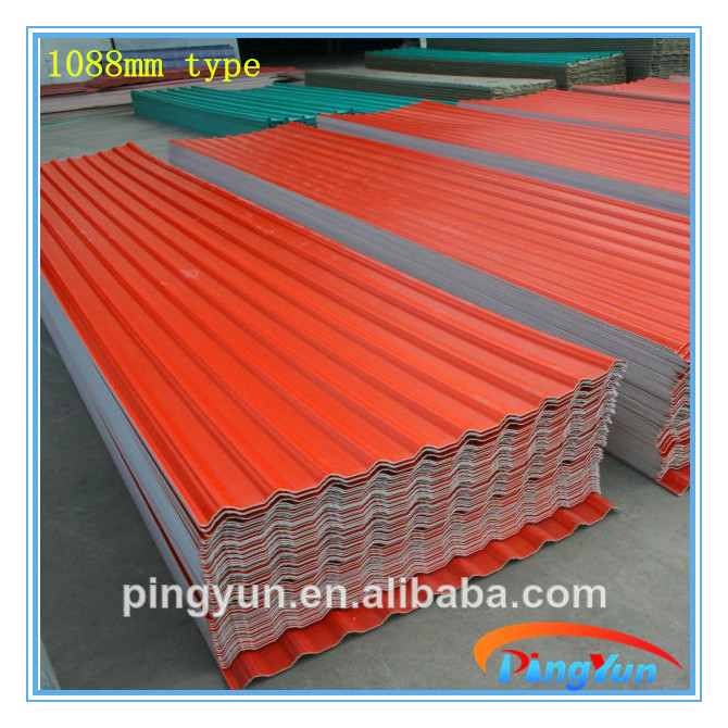 Superior Sound Absorption Pvc Plastic Roofing Tile/heat Insulation Pvc Roofing Sheet