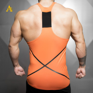 2018 Hot Sale Wholesale Mens Tank Top Gym Singlet Stringer Vest