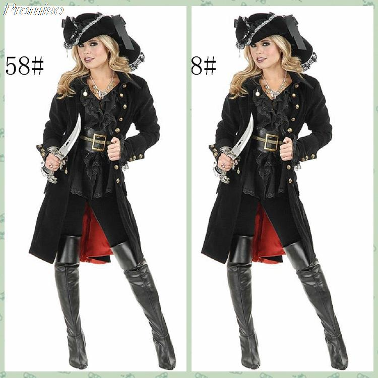 Buy New Arrival Halloween Costumes for Women Cosplay knight Pirate costume RPG sexy girl dress long black nightclub female uniforms in Cheap Price on ...  sc 1 st  Alibaba & Buy New Arrival Halloween Costumes for Women Cosplay knight Pirate ...
