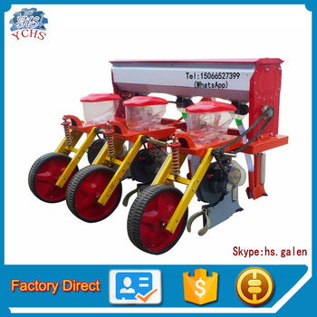 Agricultural Tool Corn 3 Row Planter Tractor Maize Seeder With