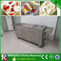 Commercial used ice cream frying machine/fried ice cream