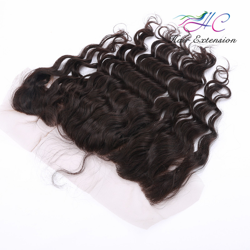 Remy Virgin Brazilian Body Wave Hair Lace Front Closure With 4 Lots
