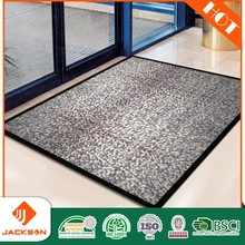 Machine tufted floor carpet for commercial fashionable entrance door mat