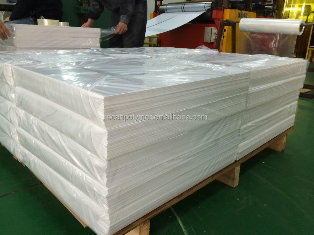 Buram Hard Case Putih Pvc Lembaran Plastik Atau Gulungan