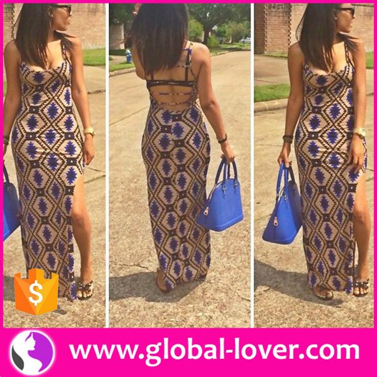 New Design Latest Fashion Dress Design Kitenge Dress Designs For
