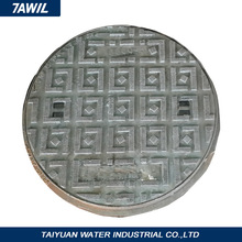 Decorative Recessed Stainless Steel Manhole Cover for Outdoor Block Paving