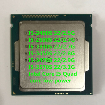 Intel core cpu i5 3570S 3470S 3330S 2400S 2500S 3450S quad core 1155 CPU ready stock best offer