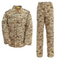 polyester/cotton military uniform desert camouflage US united states uniforms sale