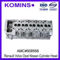 AMC 908568 7701473663 Mitsubishi Cylinder Head for volvo S40