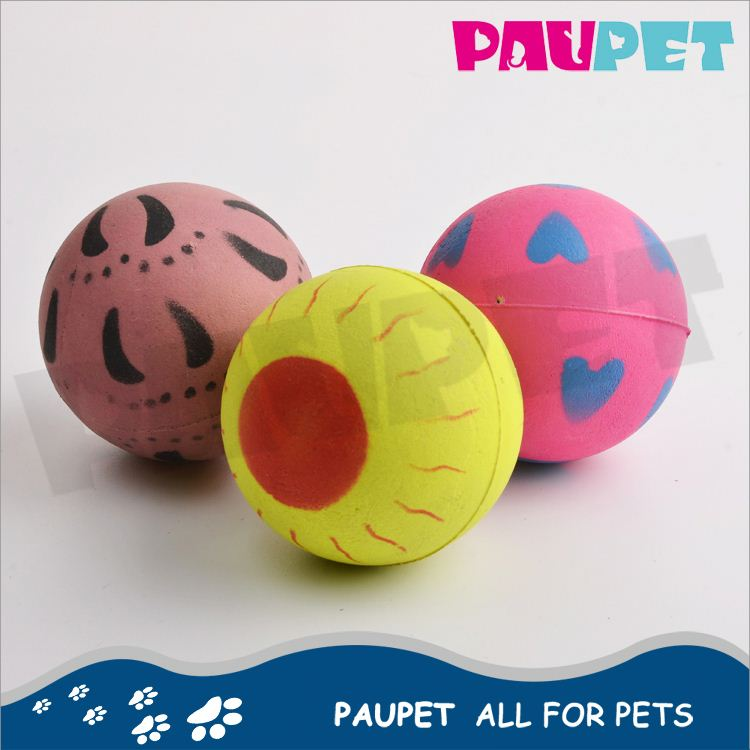 All-season performance factory directly natural rubber dog ball
