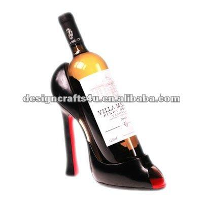 Vacances Décoratif Stiletto Haut Talon Chaussures Portebouteille De - Porte bouteille de vin