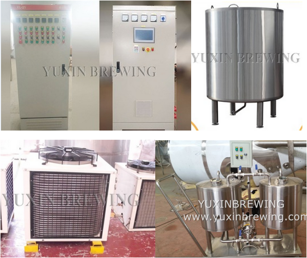 100L 200L 300L Micro Beer Brewery Equipment System