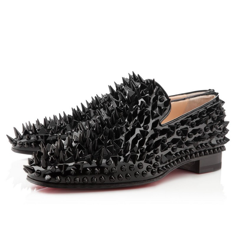 Spiked Loafers Cheap Shoes Christian Louboutin Replica