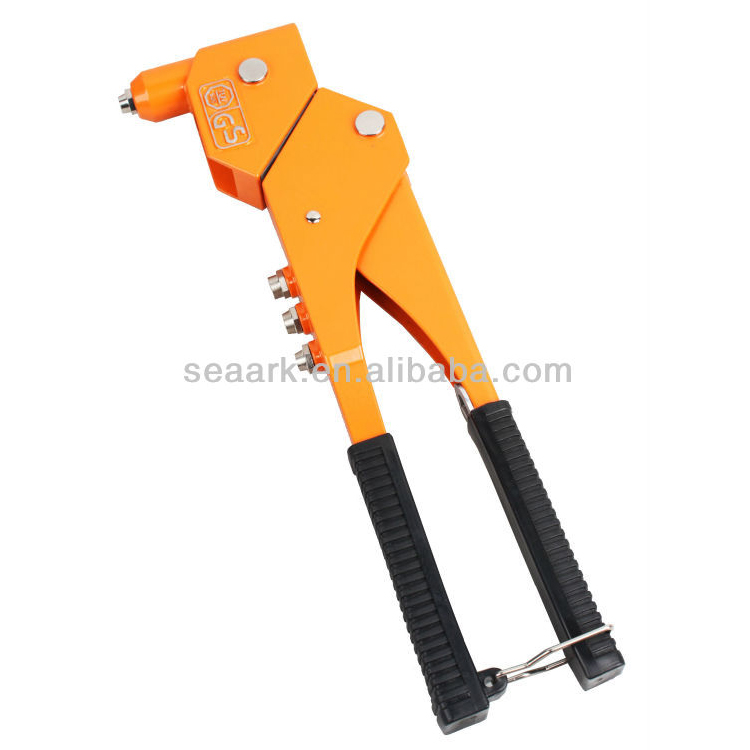Hand Riveter with black PVC handle